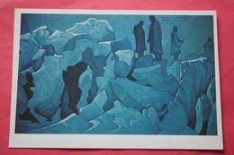 "Nicholas Roerich - ""Himalaya Guards""   HIMALAYA - Old USSR PC 1990s - Big Size . - Tibet"