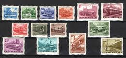 Hungary 1963. Transport I. Rare Traffic Set, MNH (**) - Unused Stamps
