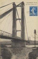 D 30 - ARAMON - Le Pont D'Aramon - Vayagée 1924 - Aramon