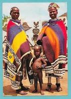 SUID-AFRIKA SOUTH AFRICA TRIBAL LIFE STAMLEWE NDEBELE WOMEN - South Africa