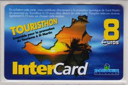 Antilles Françaises InterCard Dauphin 8 Euros 2 Scans N° 26 - Antilles (Françaises)