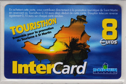 Antilles Françaises InterCard Dauphin 8 Euros 2 Scans N° 26 - Antillen (Frans)