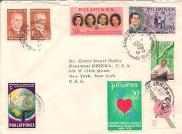 Philippines Airmail Cover     (A-3600-special-1) - Philippines