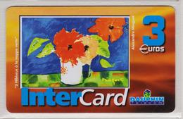 Antilles Françaises InterCard Dauphin 3  Euros 2 Scans N° 31 - Antilles (Françaises)