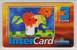 Antilles Françaises InterCard Dauphin 3  Euros 2 Scans N° 31 - Antillen (Frans)