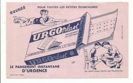 BUVARD .publicité URGO PANSEMENT - Produits Pharmaceutiques