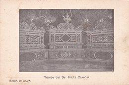 BADIA DI CAVA TOMBE DEI SS. PADRI CAVENSI NON VIAGGIATA - Cava De' Tirreni