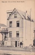 De Haan, Coq Sur Mer, Café Aux Poilus, Route Royale, 2 Scans, - De Haan