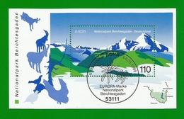 BRD  1999  Mi.Nr. Block 47 (2046) , EUROPA CEPT - Natur- Und Nationalparks - Gestempelt / Fine Used / (o) - 1999