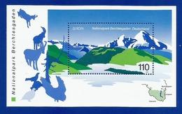 BRD  1999  Mi.Nr. Block 47 (2046) , EUROPA CEPT - Natur- Und Nationalparks - Postfrisch / MNH / (**) - 1999