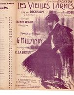 CAF CONC DICKSON LEKAIN PARTITION LES VIEILLES LARMES GEORGES MILLANDY LA BROSSE ILL DOLA V2 - Musique & Instruments