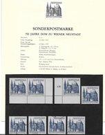 1673z5: Österreich 1979, Wiener Neustädter Dom, Schwarzdruck+ Marken **/o - 1945-.... 2de Republiek