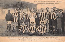 C P A Club Athlétique Saint Aubinois 1922 Footbal Normand - Fussball