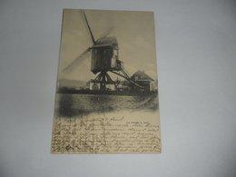 Brussel Haren Windmolen Moulin à Vent - Monumenti, Edifici