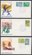 First Day Cover Spd South Corea - Corea Del Sur - Yvert 554/558 Year 1969 - Postmark - Korea, South