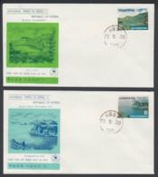 First Day Cover Spd South Corea - Corea Del Sur - Yvert 710/711 Year 1972 - Postmark - Korea, South