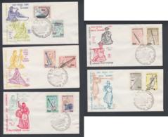 First Day Cover Spd South Corea - Corea Del Sur - Yvert 320/329 Year 1963 - Postmark - Korea (Zuid)