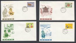 First Day Cover Spd South Corea - Corea Del Sur - Yvert 538/541 Year 1969 - Postmark - Korea, South