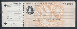 Bank Totta Check - Alliance. CUF Group. Caravel. Sun. Moon. Astrology. Cheque Do Banco Totta Aliança. Grupo CUF. Anos 50 - Cheques & Traverler's Cheques