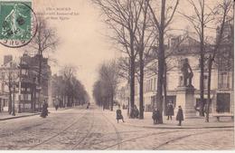 CPA -   ROUEN   - 270.  Boulevard Jeanne D'arc Et Rue Verte - Rouen
