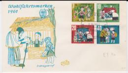 Germany FDC 1961 Wohlfahrtsmarken (T13-42) - FDC: Briefe