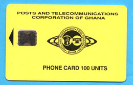 GHANA  Chip Phonecard   08/95 - Ghana