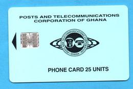 GHANA  Chip Phonecard   04/97 - Ghana
