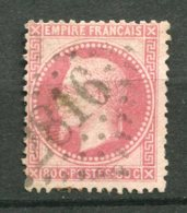 14469 FRANCE N°32 ° 80c. Rose  Napoléon III    1867     B/TB - 1863-1870 Napoléon III Lauré