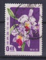 Taiwan 1958 Mi. 289    0.40 ($) Orchidee Orchid Leilia Cattleya - Gebraucht