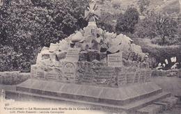 Cpa-20-2A - Vico-pas Sur Delc.-monument Aux Morts 14/18-edi Photo Franchi N°207 - France
