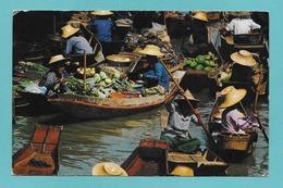 THAILAND FLOATING MARKET RAJBURI - Thaïlande