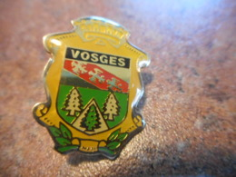 A038 -- Pin's Blason Vosges - Villes
