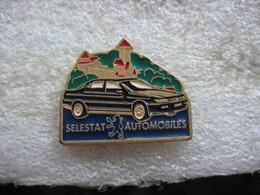 Pin's Du Garage Selestat Automobiles, Concessionnaire Peugeot. Peugeot 405 - Peugeot