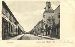 WALSRODE, Moorstraße (1899) AK - Walsrode