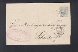 Niederlande Brief 1890 Gouda Nach Schüttorf - 1852-1890 (Wilhelm III.)