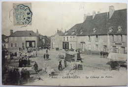 LE CHAMP DE FOIRE - CHAMPLEMY - France