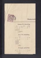 Niederlande Liste 1896 - Briefe U. Dokumente