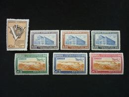Brazil, 1946 5th Postal Union Congress Of The Americas And Spain Scott #643-649 MNH Cv. 9,35$ - Brésil