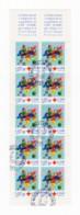 Bande Entière Carnet YT 2049 (timbres 3362) Croix Rouge 2000 Oblitérations Du 13/11/2000 Maignelay-Montigny (60) - Booklets