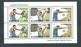 Corea Del Norte - Correo 1995 Yvert 2586/7 Minipliego ** Mnh  Olimpiadas De Atal - Corea Del Norte