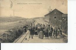 BERCK SUR MER   Sur La Route Du Phare - Berck