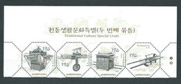 Corea Del Sur - Correo 2003 Yvert 2154/7 ** Mnh  Patrimonio Cultural - Corea Del Sur