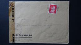 Germany - 1942 - Mi:DR 827, Sn:DE 511B, Yt:DR 710B On Envelope - Military Crnsorship - 4.4.45 - Look Scan - Allemagne