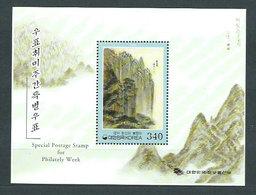 Corea Del Sur - Hojas 2000 Yvert 546 ** Mnh  Pinturas - Corea Del Sur