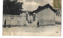 13 BOUC BEL AIR LES ECOLES 1917 CPA 2 SCANS - Autres Communes
