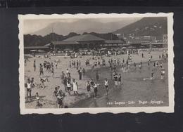 Schweiz AK Lugano Lido 1932 - TI Tessin