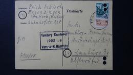 Germany - French Occupation Zone - 1949 - Zz 3c On Postcard - Look Scan - Zone Française