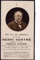 Ingelmunster, 1919; Henri Verthé, Devaere - Images Religieuses