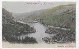 (RECTO / VERSO) ROCHETAILLEE EN 1906 - N° 46 - BARRAGE DU GOUFFRE D' ENFER - BEAU CACHET - CPA VOYAGEE - Rochetaillee