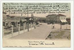 VARESE - STAZIONE NORD 1902 -  VIAGGIATA FP - Varese